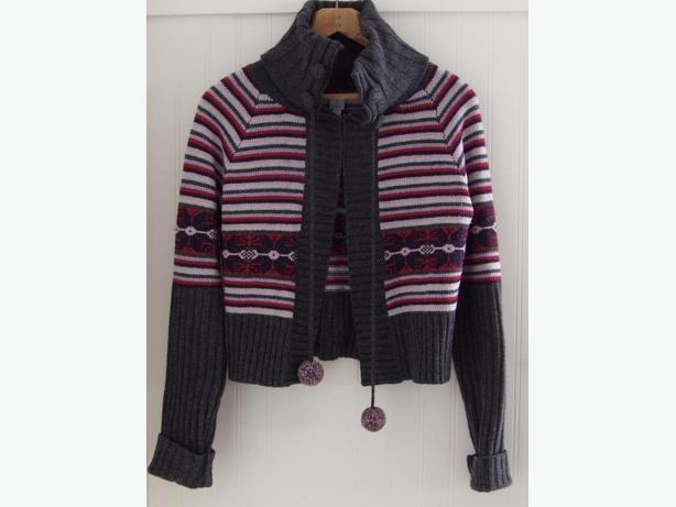 TRISTAN Women's Lambswool Cardigan Sweater