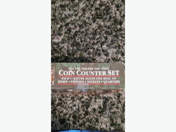 Coin counter set