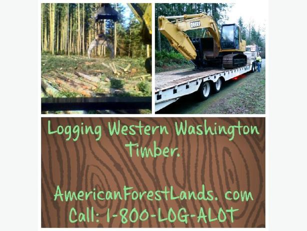 TIMBER LOGGING COMPANY 800-564-2568, Forestry Service Pacific NW Washington