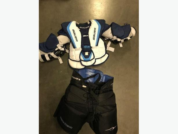 Bauer Goalie Chest Protector & Powertek Goalie Pants