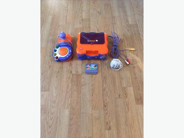 Vtech V.smile tv learning system game console and controller