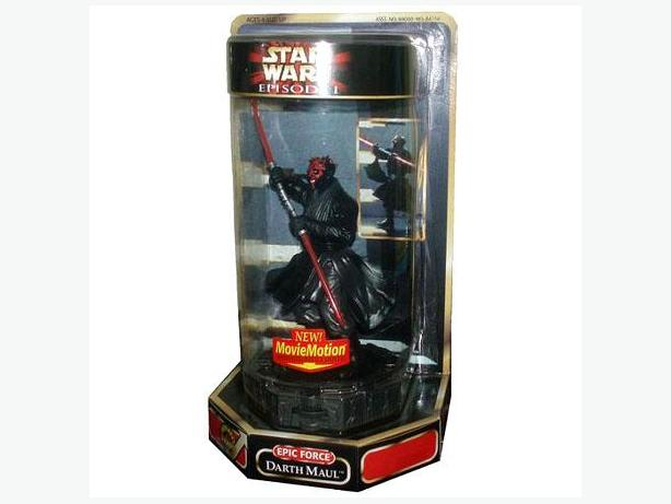Star Wars - Darth Maul figure from Phantom Menace