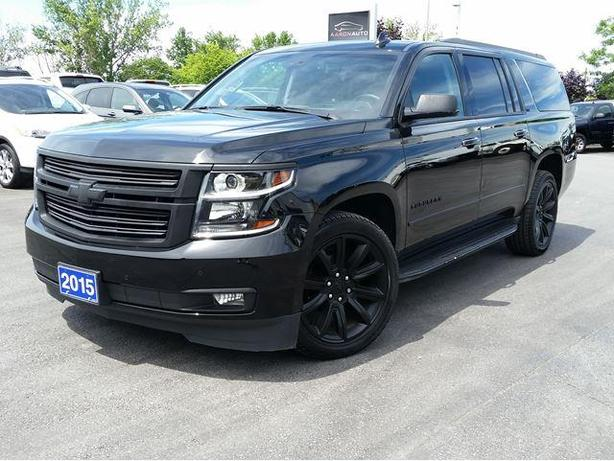 2015 Chevrolet Suburban LTZ-7 PASSENGER-NAVIGATION-HEATED&COOLED LEATHER SEATS