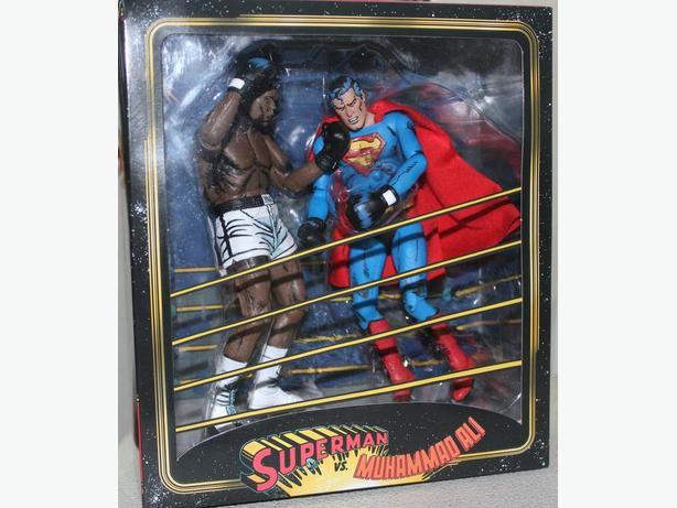 Muhammed Ali vs Superman from the 1970's comic
