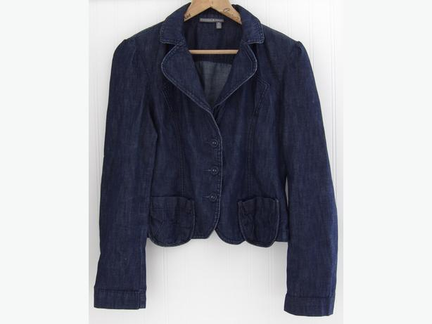 Tristan & Iseut Denim Fitted Jean Jacket - As NEW, Never Worn!