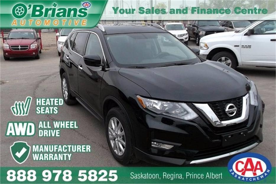 2017 Nissan Rogue Sv W Mfg Warranty Outside South