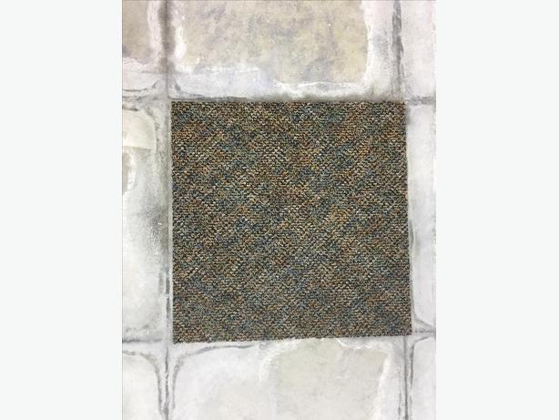 "2000sf+ Heavy Duty Commercial Carpet 18""18"" $0.30sf"