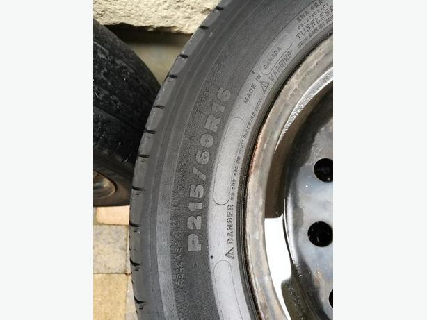 4 tires&rim p215/60R16