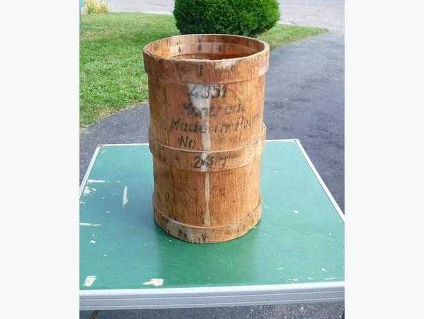 Vintage Wood Nail Keg