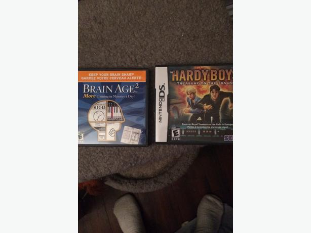 2 nintendo ds games for sale