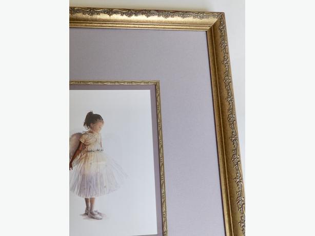 """""""My Little Angel"""" by Steve Hanks - Custom Framed Print"""