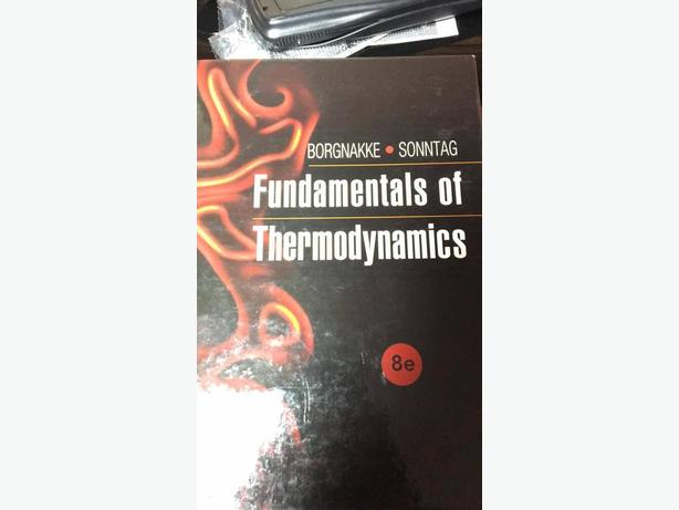 FUNDAMENTALS OF THERMODYNAMICS 8e