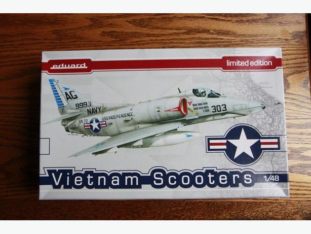"Eduard 1/48 ""Vietnam Scooters"" Limited Edition A4 Skyhawk"