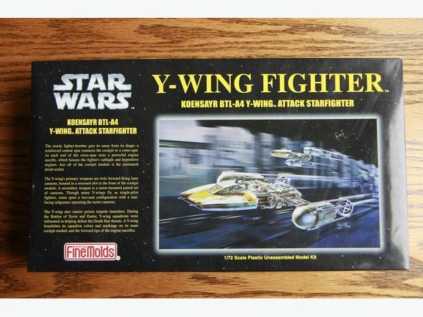 Finemolds 1/72 Star Wars Y-Wing