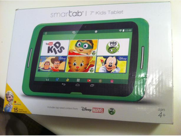 Tablet for kids Smartab