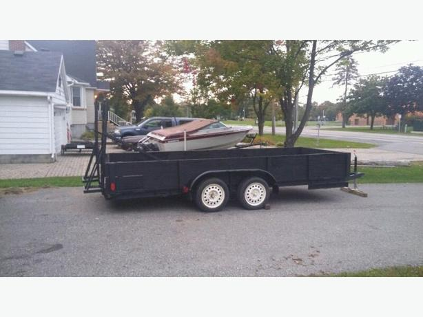 16ft utility trailer - SOLD!!!