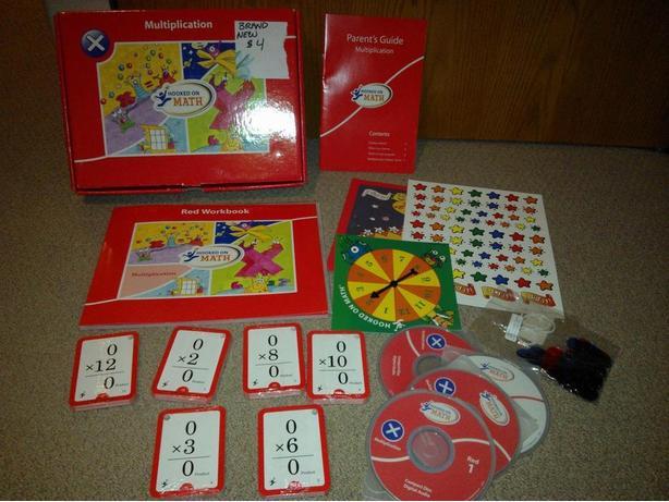 Kids Math Multiplication learning kit