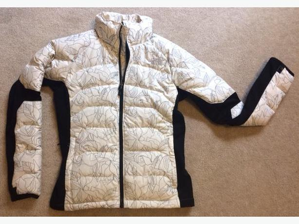 North Face goose down jacket - exc. condition. Size Small