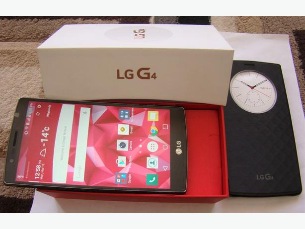 New in Box Never Used Factory Unlocked LG G4 with Bonus Smart phone