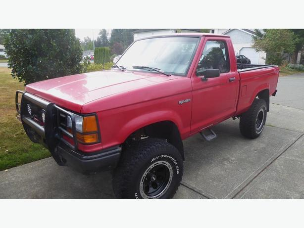 92' 2.3L 4x4 Ford Ranger for sale