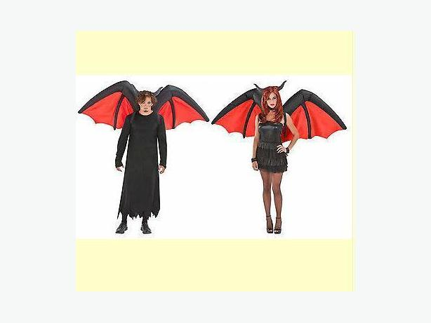 Demon Devil Bat Vampire Wings Costume Accessory - Airblown Infatable