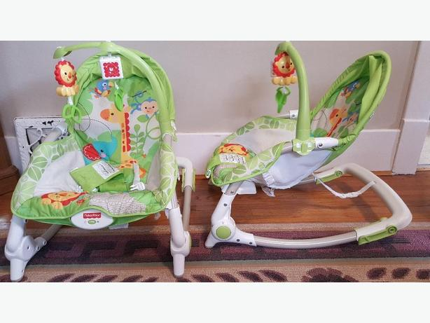 2 Newborn-to-Toddler Portable Rockers