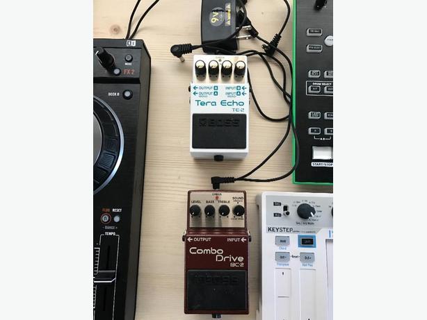 boss FX pedals