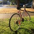 Cutie Pink Vintage Bike
