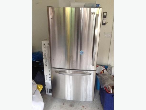 S/S fridge freezer
