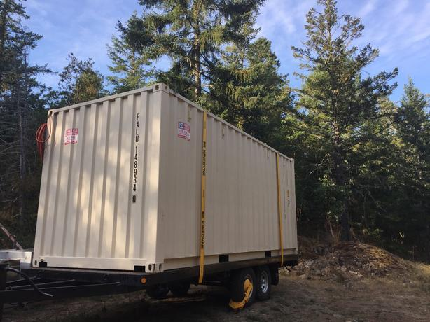 New one way 20' shipping container NO TAX