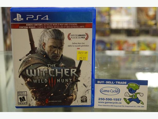 The Witcher III: Wild Hunt for PS4 Available @ Game Cycle