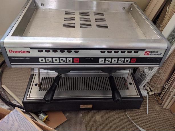 Espresso machine 900 & Grinder 275