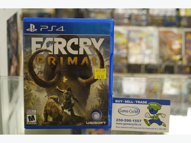 Far Cry Primal For PS4 Available @ Game Cycle