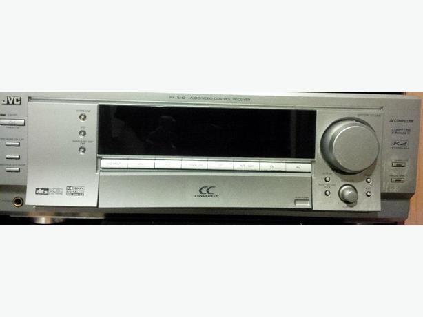 130 Watt Channel JVC RX-7042 Receiver