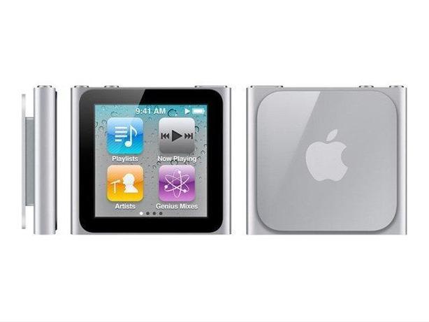 Apple iPod nano 6th Generation Silver (16GB) Mint condition