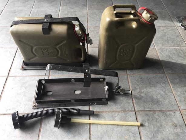 Sceptre Fuel Tanks for Off Road