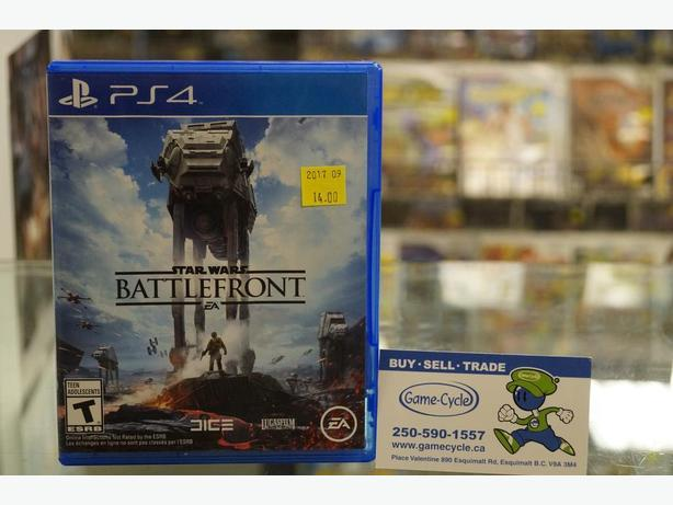 Star Wars Battlefront for PS4 Available Now at Game Cycle