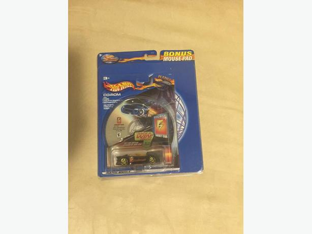 Hot Wheels car with CD and Mouse Pad New unopened