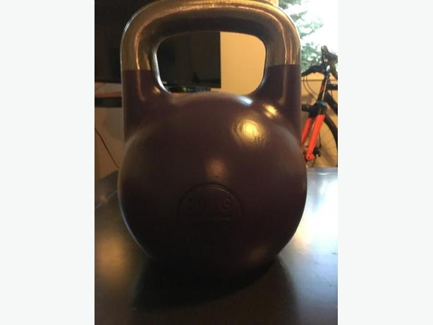 BRAND NEW CONDITON 20kg COMPETITION KETTLE BELL (purple)