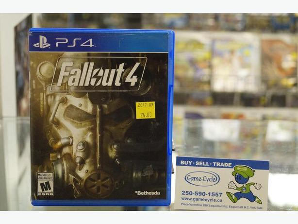 Fallout 4 For The PS4 Available @ Game Cycle