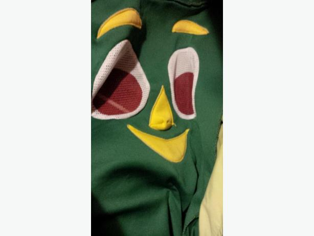 Adult Size Gumby Costume