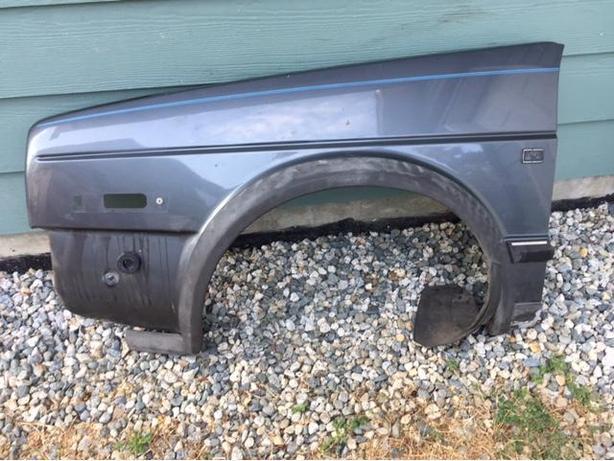VW Jetta fender