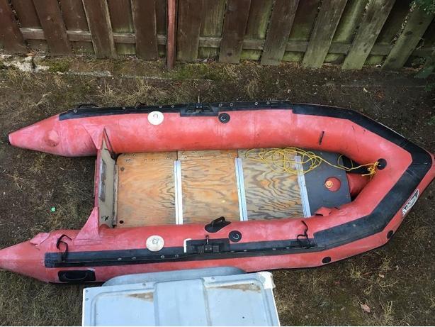 8ft Hypalon boat