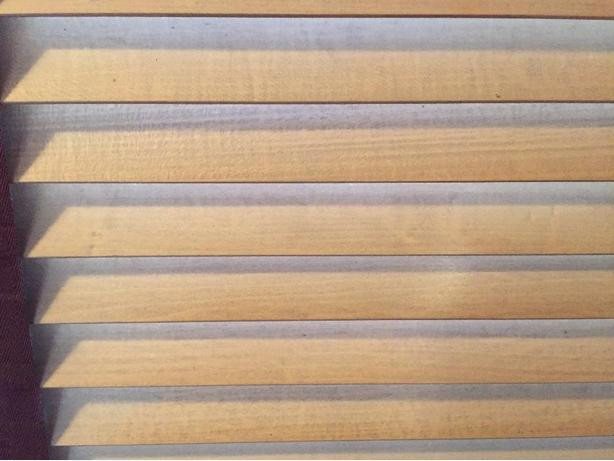 Shade o Matic Real wood blinds