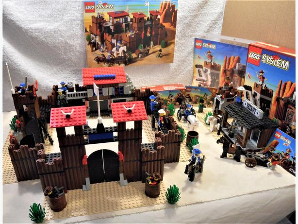 Bulk lot of Legos - Fort Legorado and 2.5 Wild West Sets