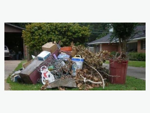 Junk Pickups, Garbage, Yard Waste Removal Services
