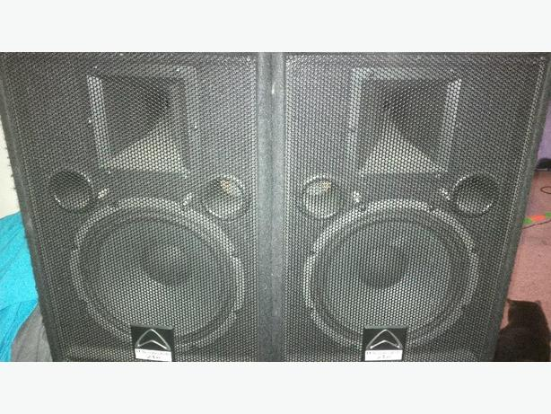 """2 Wharfedale Pro 10"""" PA Speakers"""