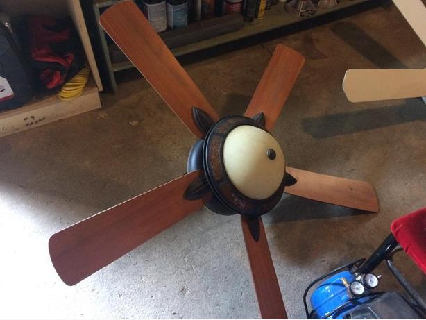 Beautiful ceiling fan with light