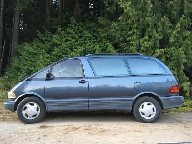 1993 Toyota Previa All-Trac