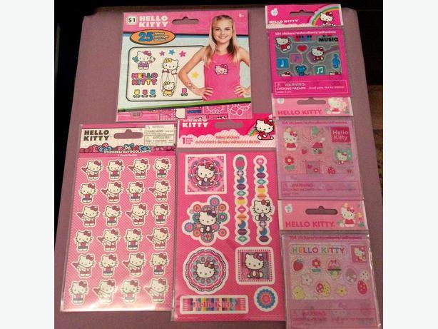 Hello Kitty Stickers Lot!